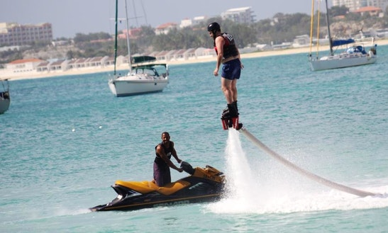 Enjoy Flyboarding In Simpson Bay, Sint Maarten