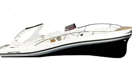 Charter 33' Scanner One Rigid Inflatable Boat In Limenas Chersonisou, Greece
