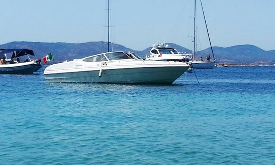 Deck Boat Available To Rent With Or Without Captain In Porto Rotondo, Italy