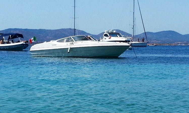 Gobbi 21.05 Sport Cuddy Cabin for Rent With or Without Captain in Porto Rotondo, Italy