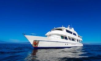 Charter 104' Tip Top III Power Mega Yacht in Quito, Ecuador