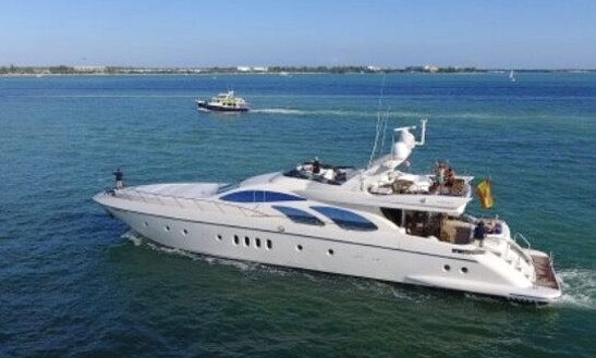 Charter 100' Azimut Power Mega Yacht In Baja California Sur, Mexico