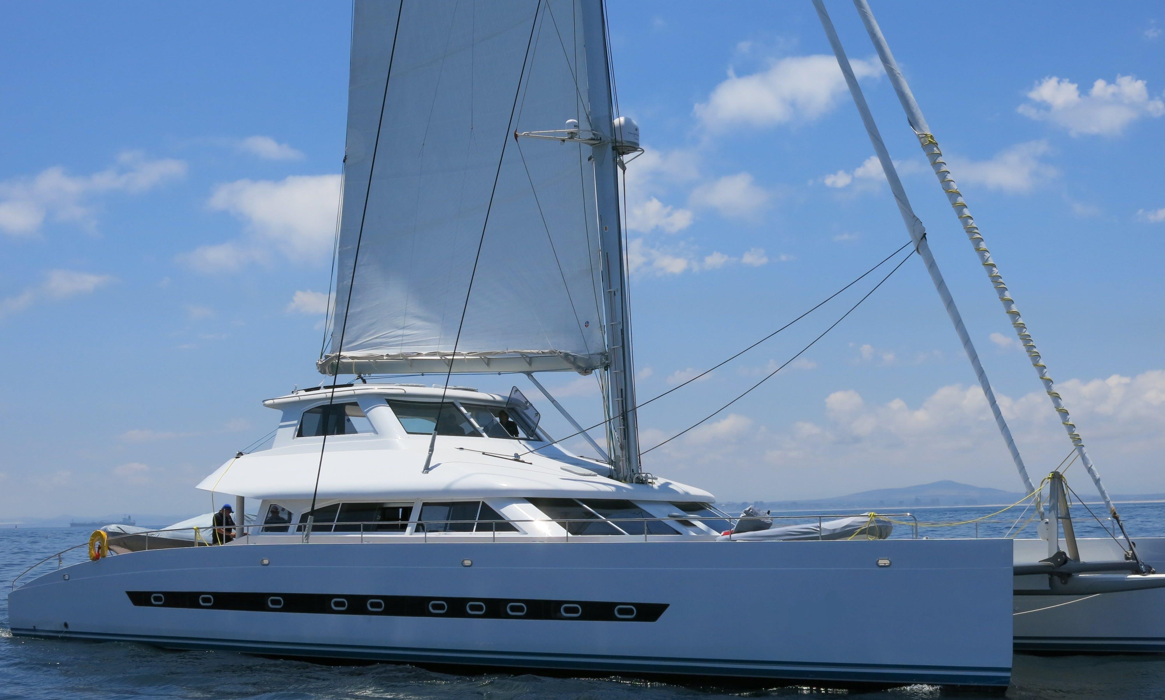 Charter 75ft Catamaran in Bazaruto Archipelago, Mozambique