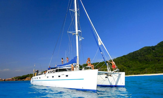 Charter 56' Fountaine Pajot Catamaran In Zanzibar