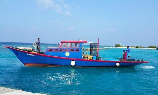 Enjoy Fishing In Keyodhoo, Maldives On Submarine Cuddy Cabin
