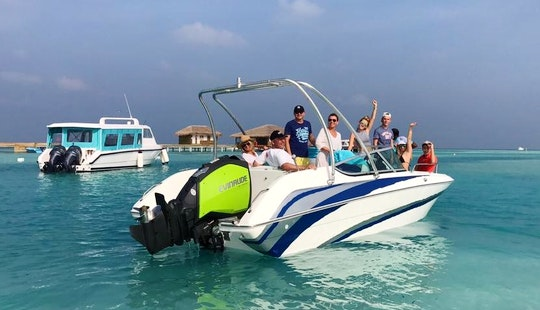 Enjoy Fishing In Malé, Maldives On A Center Console