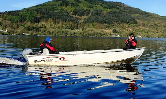 Enjoy Fishing In County Clare, Ireland On A Dinghy