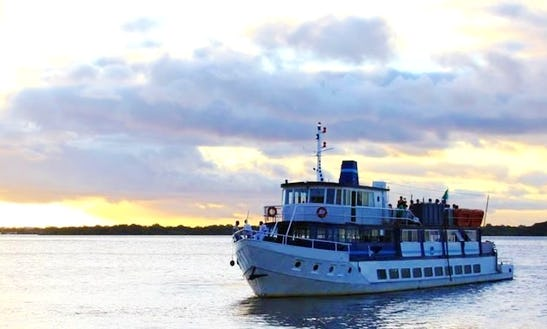 Party Boat Venue And River Cruise For 180 People In Porto Alegre, Brazil
