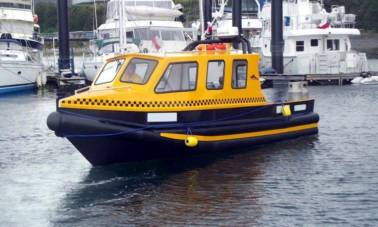 Boat Water Taxi Trips in Puerto Montt