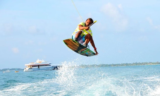Enjoy Wakeboarding In Malé, Maldives
