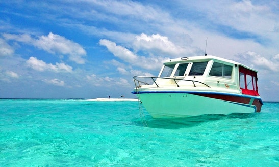 Charter A Spacious Motor Yacht For 12 Person In Male, Maldives