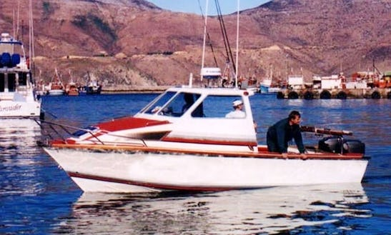 Charter On Cuddy Cabin Fishing Boat From Cape Town