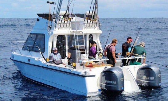 Enjoy Fishing In Cape Town, South Africa On 32' Obelix Sport Fisherman