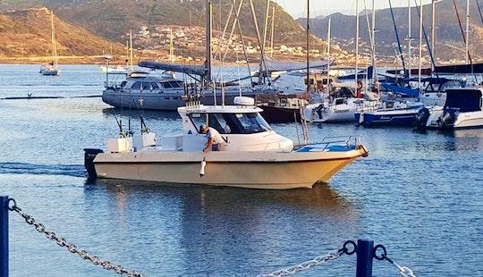 Enjoy Fishing In Cape Town, South Africa On Kiora Ii Cuddy Cabin