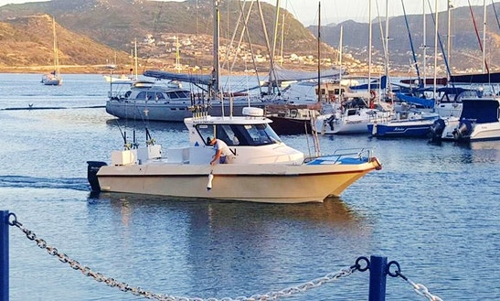 Enjoy Fishing In Cape Town, South Africa On Kiora Ii Cuddy Cabin