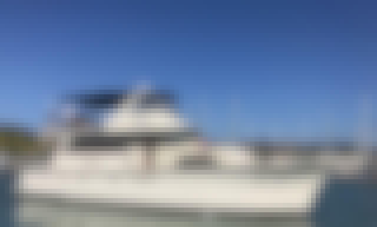 58' Hatteras Yacht rental in Nuevo Vallarta