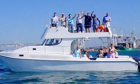 36' Shark Cage Diving Boat In Cape Town