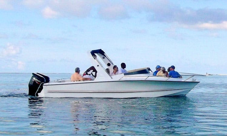 Charter a Speedboat in Le Morne, Mauritius