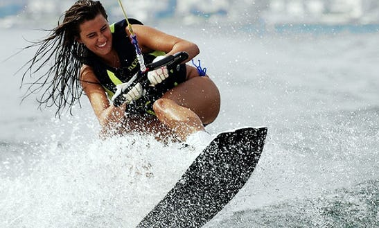 Enjoy Wakeboarding In Ajman, United Arab Emirates