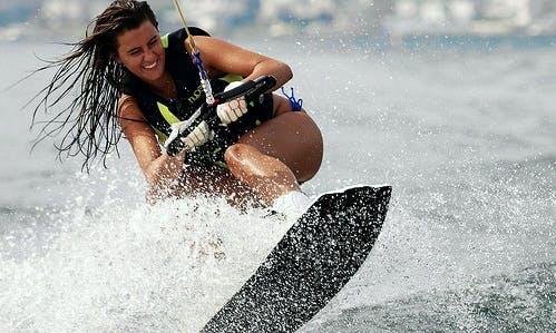 Enjoy Wakeboarding in Ajman, United Arab Emirates