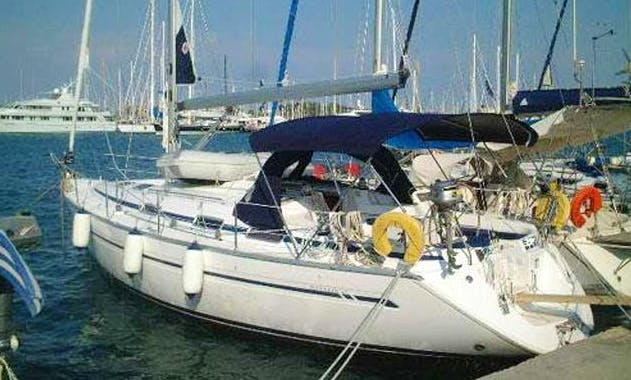 "Sailing Charter 41ft ""Amalia"" Bavaria Cruising Monohull In Kavala, Greece"