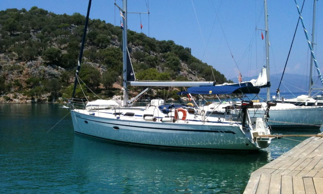 "Sailing Charter On 40ft ""Ilectra"" Bavaria Cruising Monohull In Kavala, Greece"