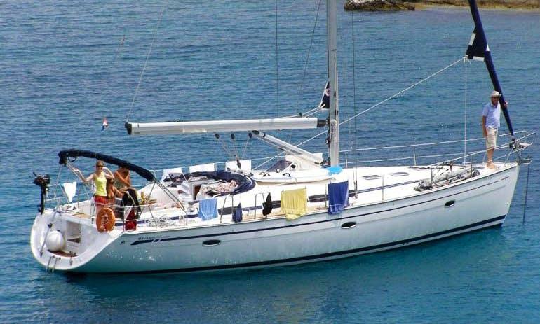 "Sailing Charter On 46ft ""Esta E Vida"" Bavaria Cruising Monohull In Kavala, Greece"