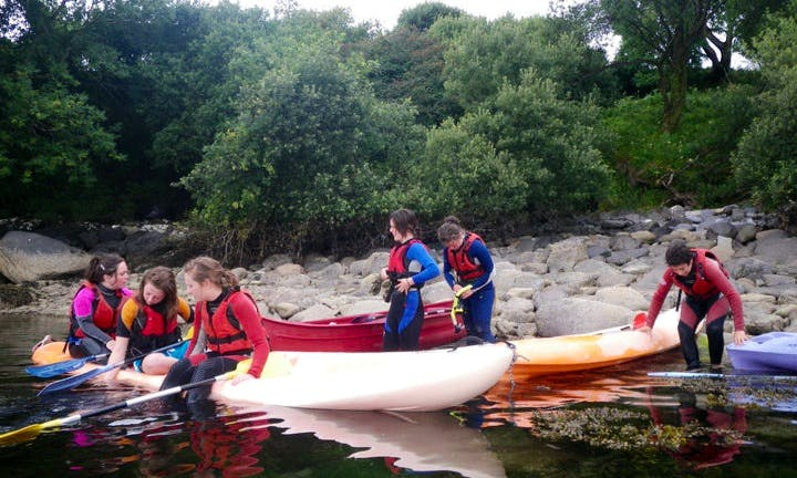 Canoeing in Adrigole, County Cork