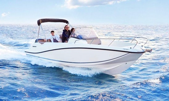 Rent A Quicksilver Activ 675 Open Center Console In Budapest, Hungary