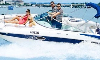 Rent Crowline Bowrider in Budapest, Hungary
