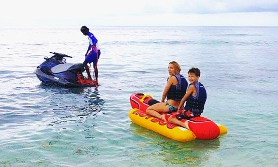 Enjoy Banana Boat Rides In Male, Maldives