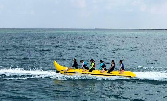 Enjoy Adventurous Banana Rides In Malé, Maldives