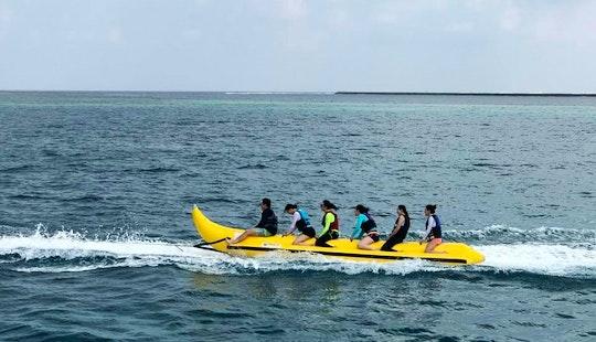 Adventurous Banana Rides In Malé, Maldives