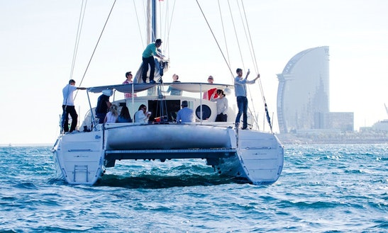 Exclusive Catamaran In Barcelona