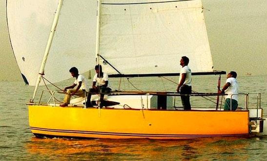 Rent 22' Cruising Monohull In Mumbai, Maharashtra