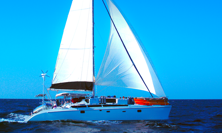 Nakamal 46 Ft Catamaran Sail Dive Charters From Phuket