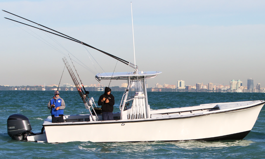 Enjoy Fishing On 26' Center Console In Miami, Florida