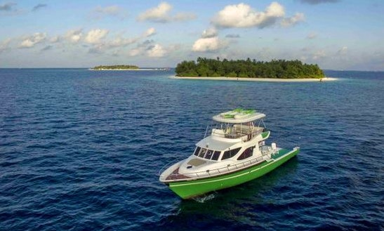 Enjoy Fishing In Malé, Maldives On A Motor Yacht