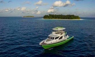 Enjoy Fishing in Malé, Maldives on a Motor Yacht