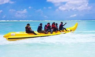 Enjoy Banana Rides and Fun Tube Rides in Malé, Maldives