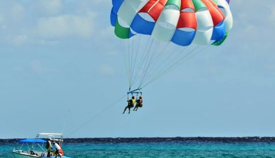 Amazing Parasailing Experience In Malé, Maldives