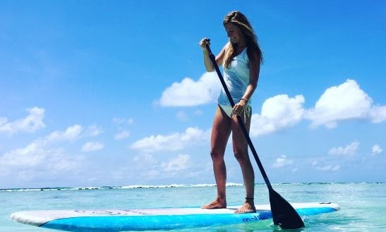Spend Time On The Waves Learning Stand Up Paddleboarding In Malé, Maldives