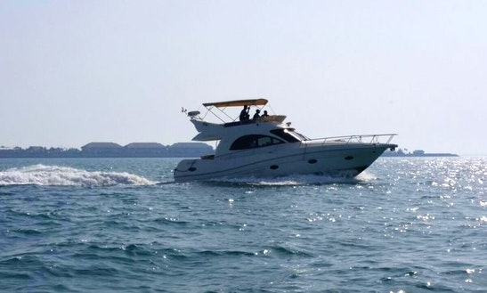 Rent A Motor Yacht In Abu Dhabi, United Arab Emirates