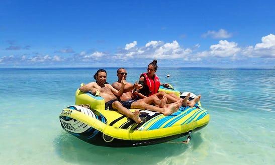 Enjoy Sofa Rides In Ukulhas, Maldives