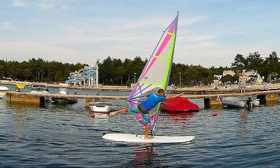 Enjoy Windsurfing In Umag, Croatia