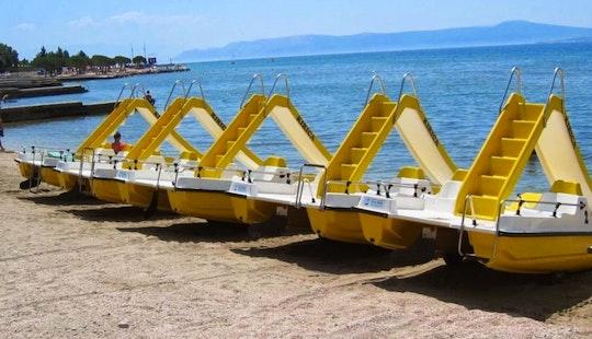 Rent A Paddleboat In Crikvenica, Primorsko-goranska županija