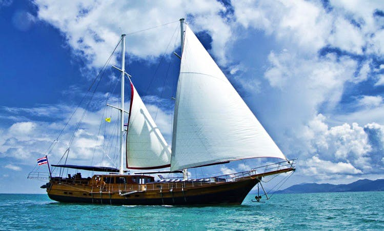Traditional Turkish Gulet Charter in Koh Samui