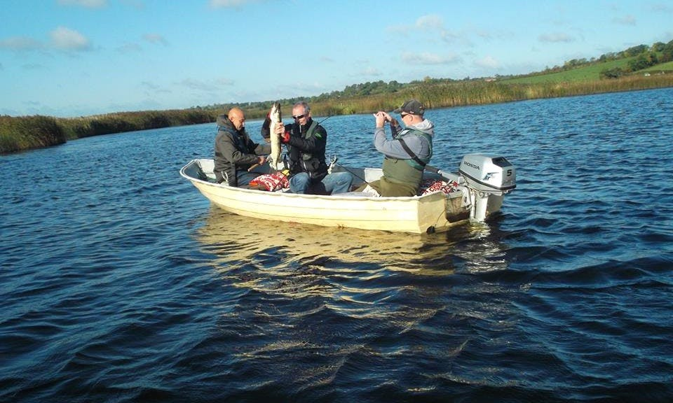 Ready for a great catchm, book fishing in County Monaghan, Ireland (With or without food)