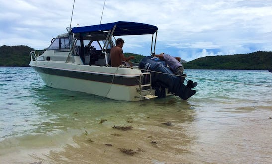 Center Console Charter In Coron, Philippines