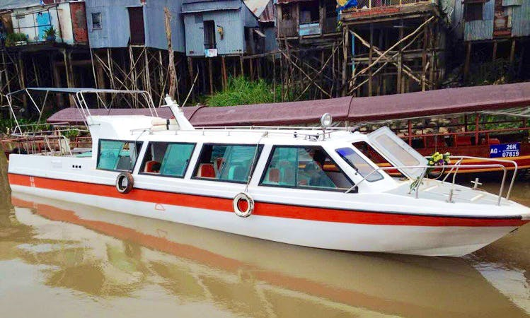 Cruise on the World's 12th Longest River in Vietnam